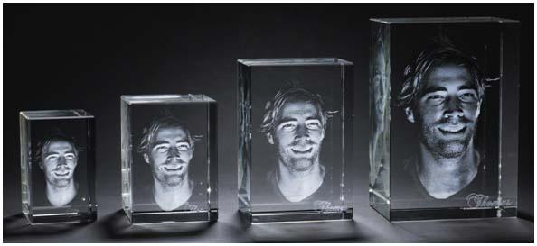 3D Crystal Tributes